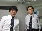 千葉栄一先生と院長佐々木