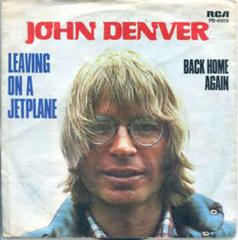 Leaving On A Jet Plain / John Denver