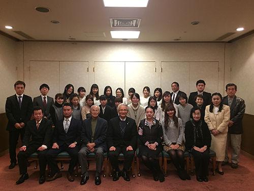 12/12佐々木歯科忘年会Inネストホテル松山