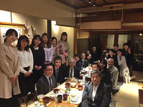 3/30佐々木歯科送別会&新人歓迎会