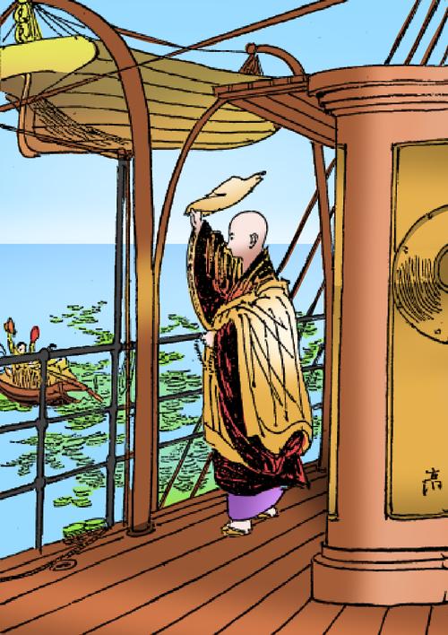 [連載] カラー絵本・おぼうさんのチベット大旅行 (1)