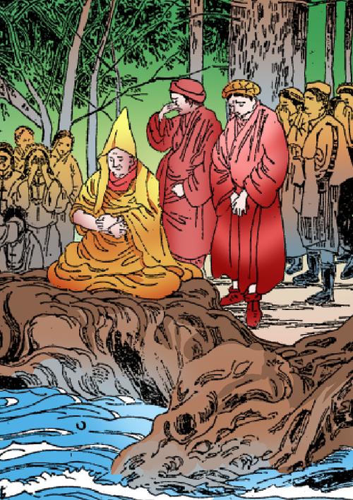[連載] カラー絵本・おぼうさんのチベット大旅行 (2)
