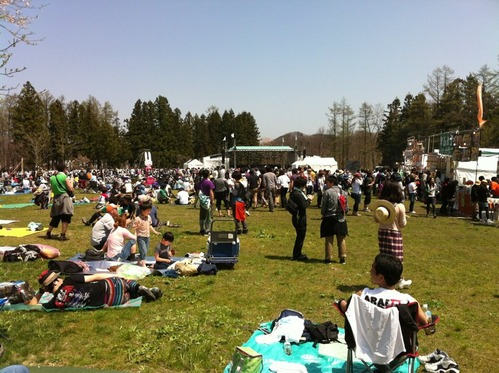 ARABAKI ROCK FEST.12に行ってきた