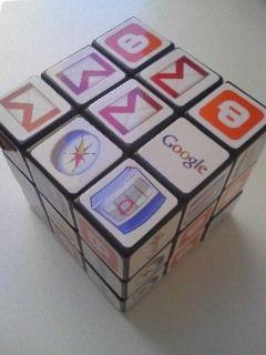 Googleルービックキューブをついにゲット