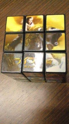 「ライラの冒険」のルービックキューブ