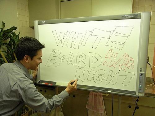 ホワイトボードナイト@株式会社あくしゅ&株式会社シナプス