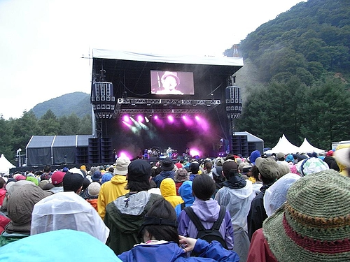 FUJI ROCK FESTIVAL '09に行ってきた(1日目)