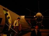 名古屋便は小さな飛行機