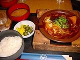 味噌カツ鍋膳