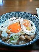 ハッピー食堂のチャーシュー丼