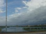 青空と黒雲