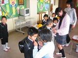 1年生教室の補助