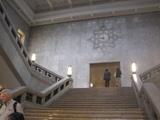 国立博物館の大理石の壁