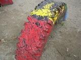 タイヤの遊具2