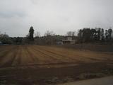 千葉の平地には畑が広がっている