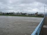 神通川増水