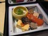 奈良でいただいた和食の前菜
