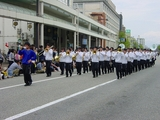 ブラスバンドのパレード
