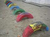 タイヤの遊具3