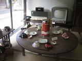 昭和レトロな展示のある喫茶店