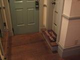 バスルームの入り口