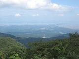 牛岳山頂からの風景