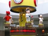 富山駅北のからくり時計