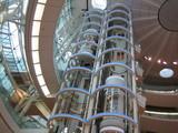 第2ターミナルのエレベーター