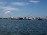 富山港の様子