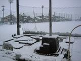 3月31日の雪景色