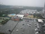14階のレストランから見たオーシャンビュー