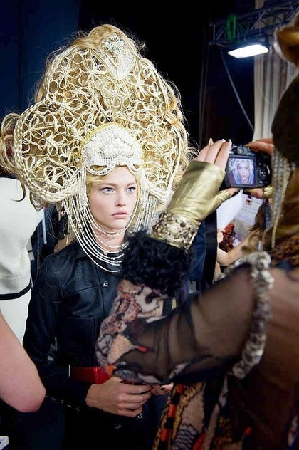 behind the scenes - CHANEL Paris Moscou 2008/09