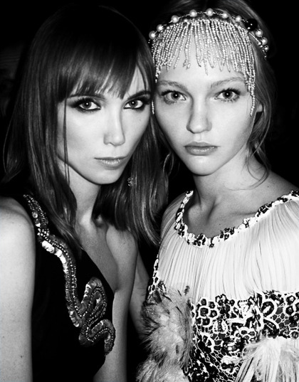 backstage at Vogue Icons Grand Ceremony