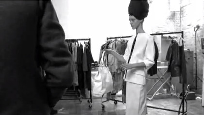 LONGCHAMP S/S 2010 - campaign behind the scenes
