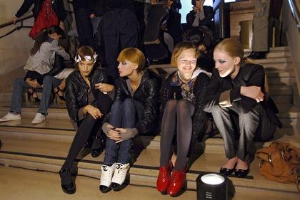 Karl Lagerfeld S/S 2007 - backstage