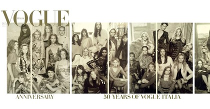 Vogue Italia - Anniversary 50th for Vogue Italia September 2014 issue