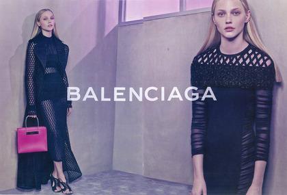 【coming soon】 Balenciaga - Spring / Summer 2015 Ad campaign