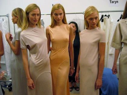 Calvin Klein S/S 2008 - backstage