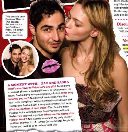 Valentine's LOVE - zac & sasha