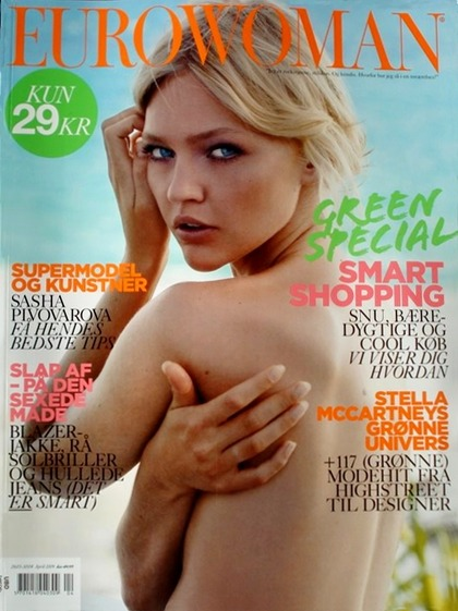 EURO WOMAN - April 2009 issue
