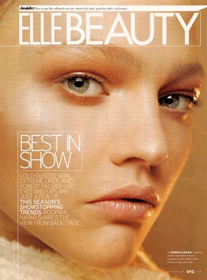 ELLE Beauty US - September 2007