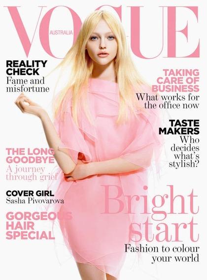 Vogue Australia - March 2008 issue
