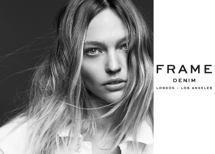 【latest news】 FRAME DENIM - spring / summer 2015