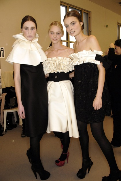 Giambattista Valli F/W 2007 - backstage and after party