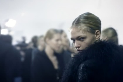 Elie Saab Haute Couture S/S 2009 - backstage