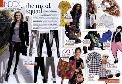 the m.o.d squad - Vogue US May 2009