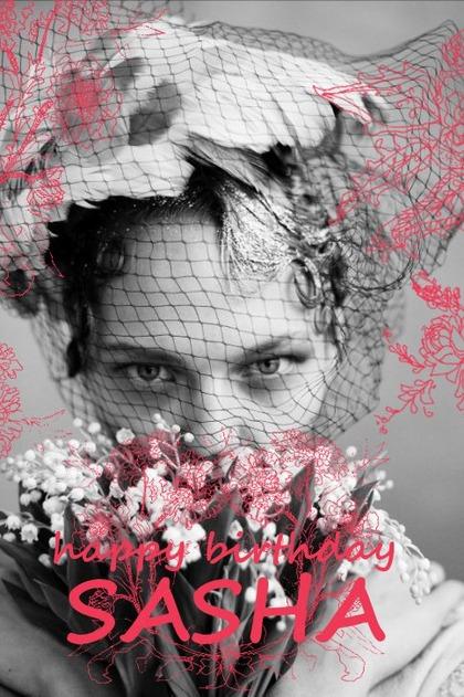 happy birthday SASHA !!
