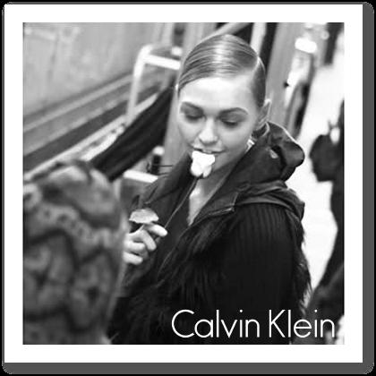 Calvin Klein F/W 2010 - backstage / street