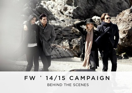 behind the scenes - Massimo Dutti F/W 2014