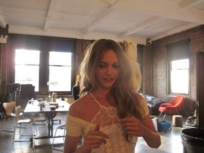 free people April 2011 - behind the scenes